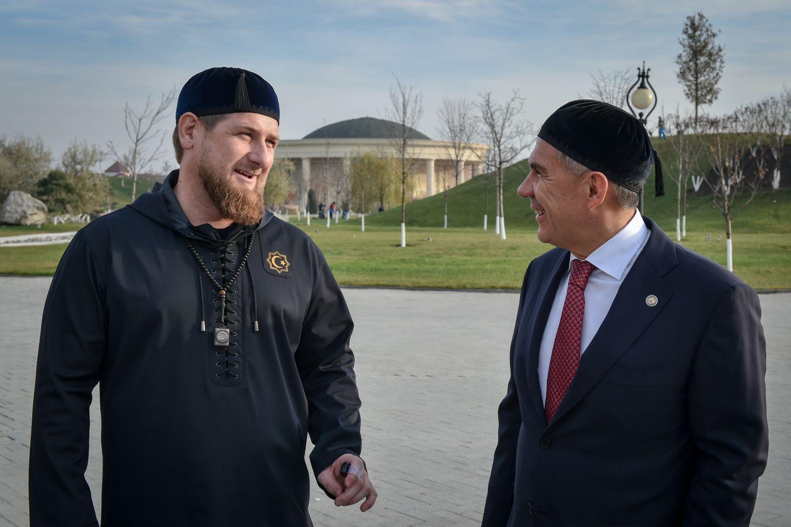 Рамзан Кадыров и Рустам Минниханов