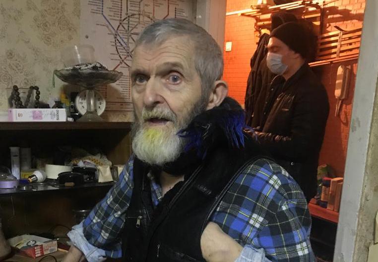 Абдулхай Саляхетдинов после выписки из больницы