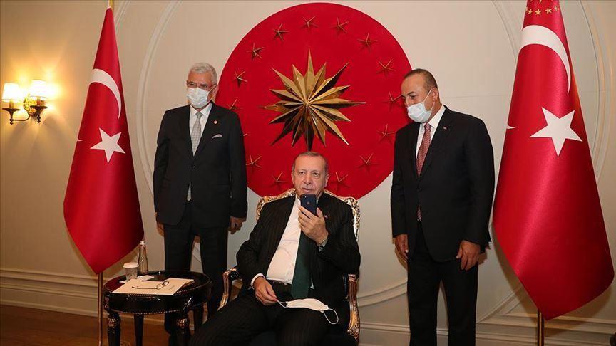 Фото: пресс-служба президента Турции