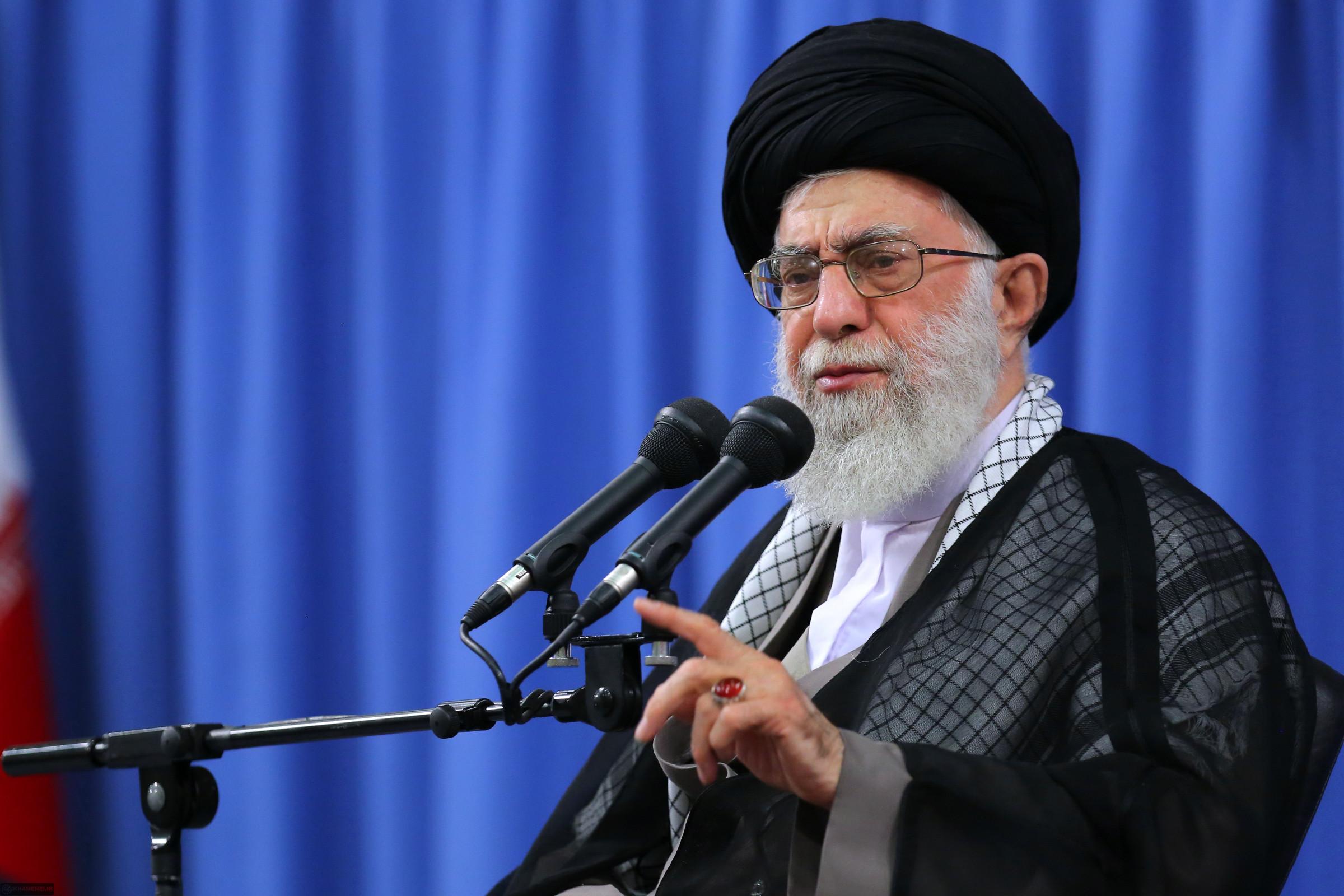 Верховный лидер Ирана Али Хаменеи
