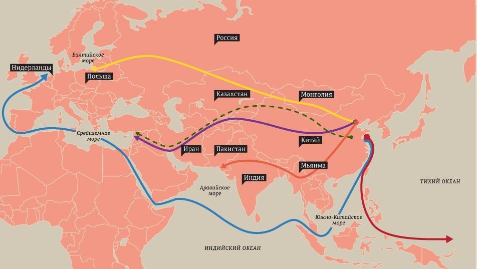 «Один пояс, один путь» ускоряет развитие железнодорожного коридора Китай-Европа