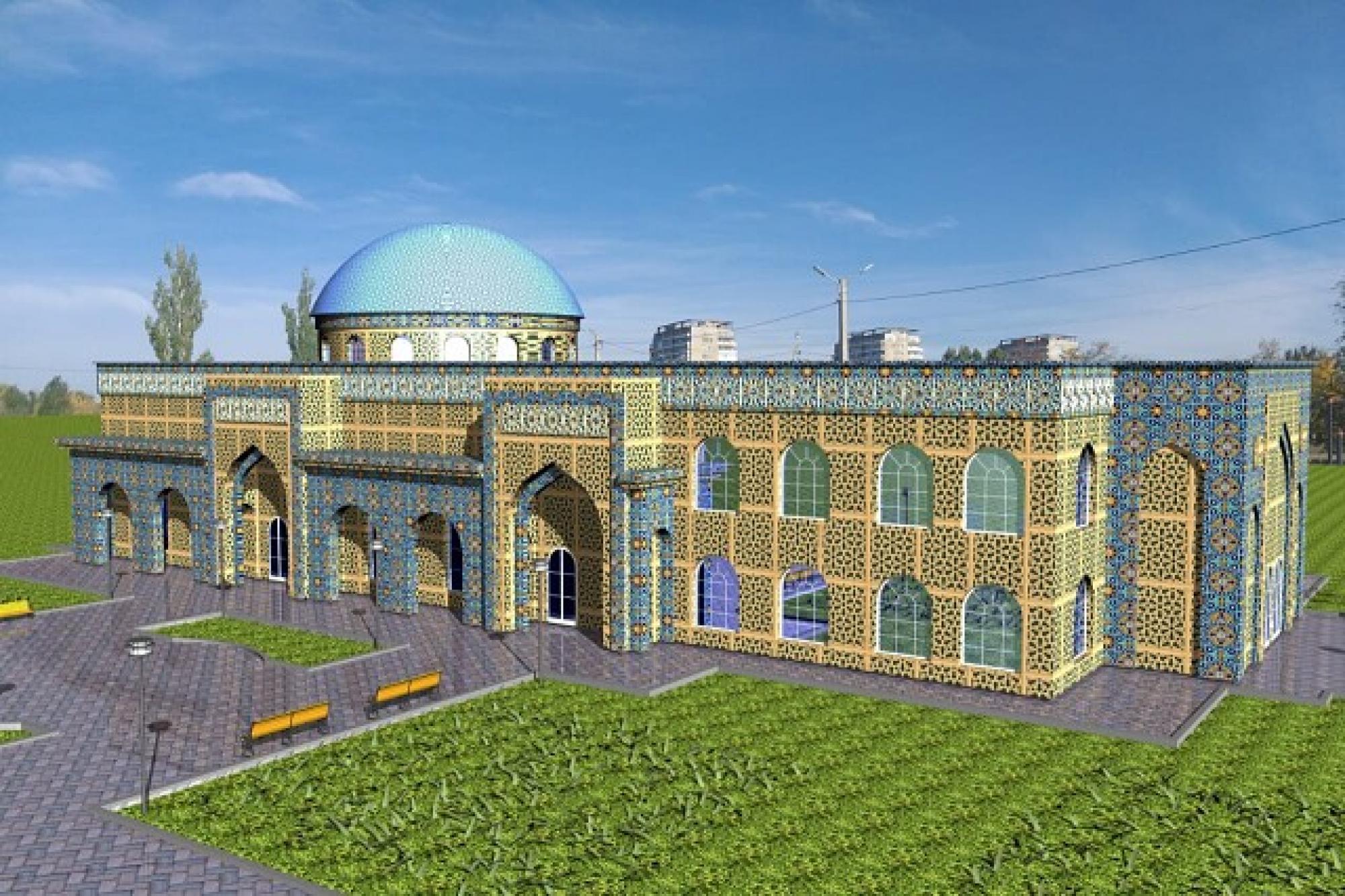Проект мечети в Волжском