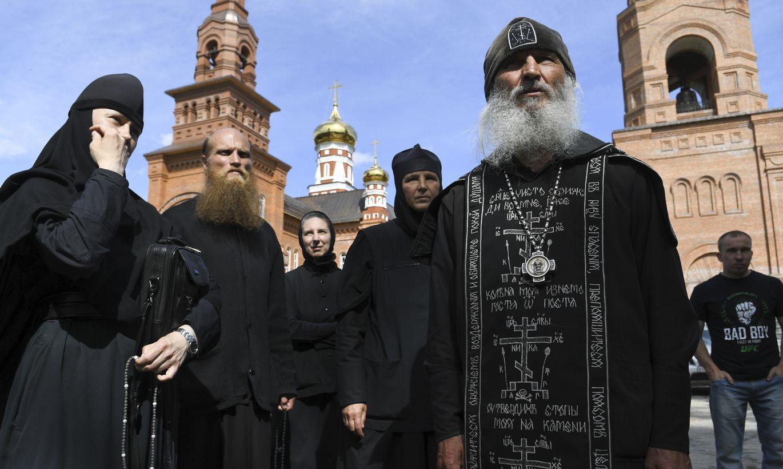 Схиигумен Сергий и его соратники