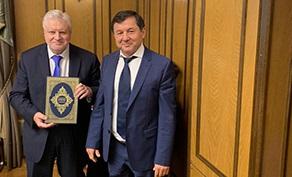 Сергей Миронов и Гаджимурад Омаров