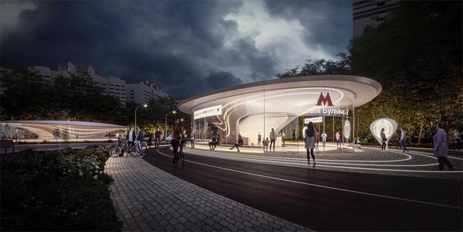 Визуализация станции «Кленовый бульвар 2»