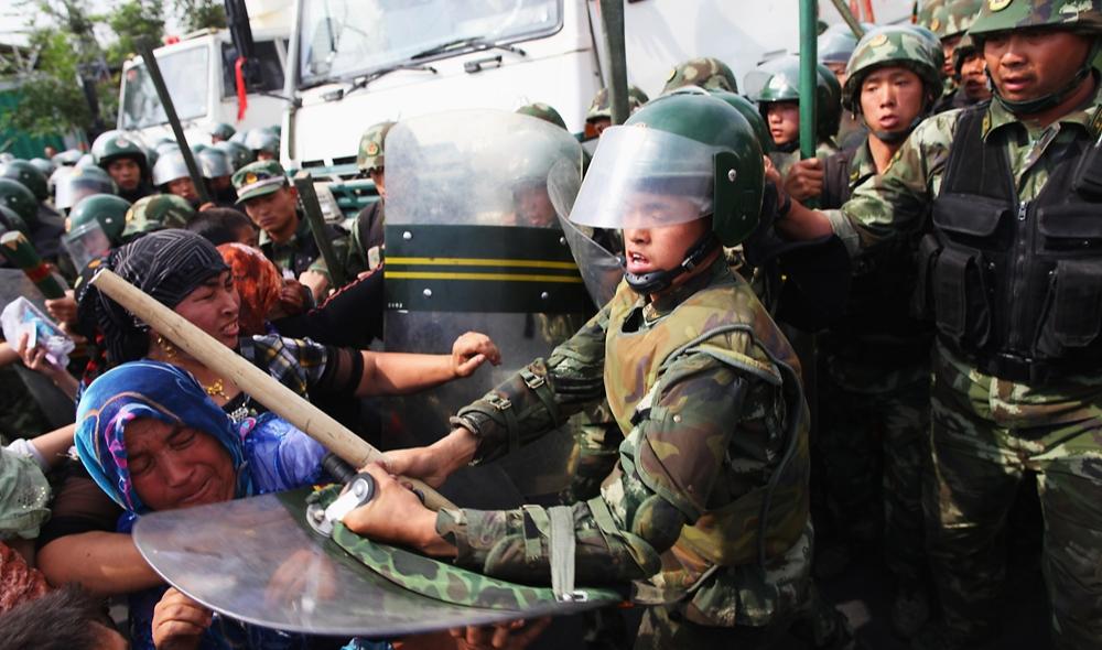 Протесты в Синьцзяне