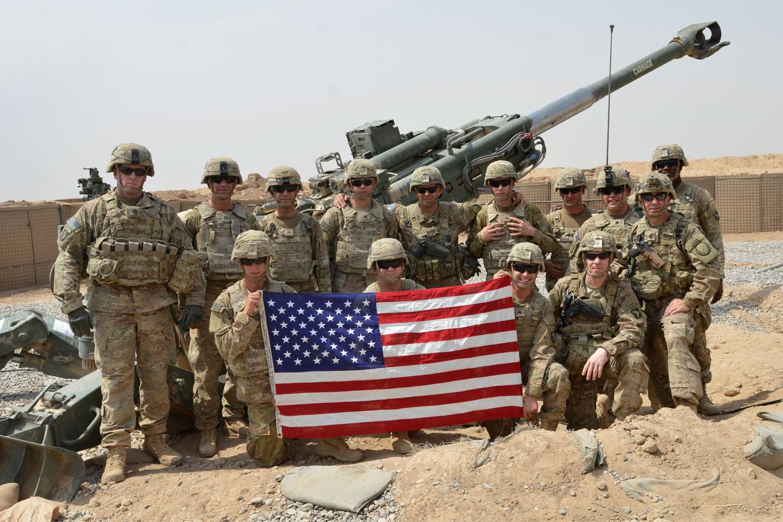Американские оккупационные войска в Ираке