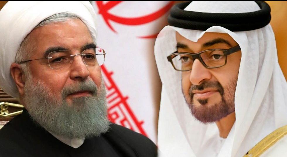 Президент Ирана и наследный принц Абу-Даби