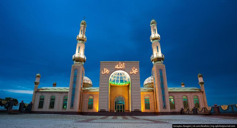 Сурхахи. Мечеть им. шейха Батал-хаджи. Фото: Исмаил Ибрагимов