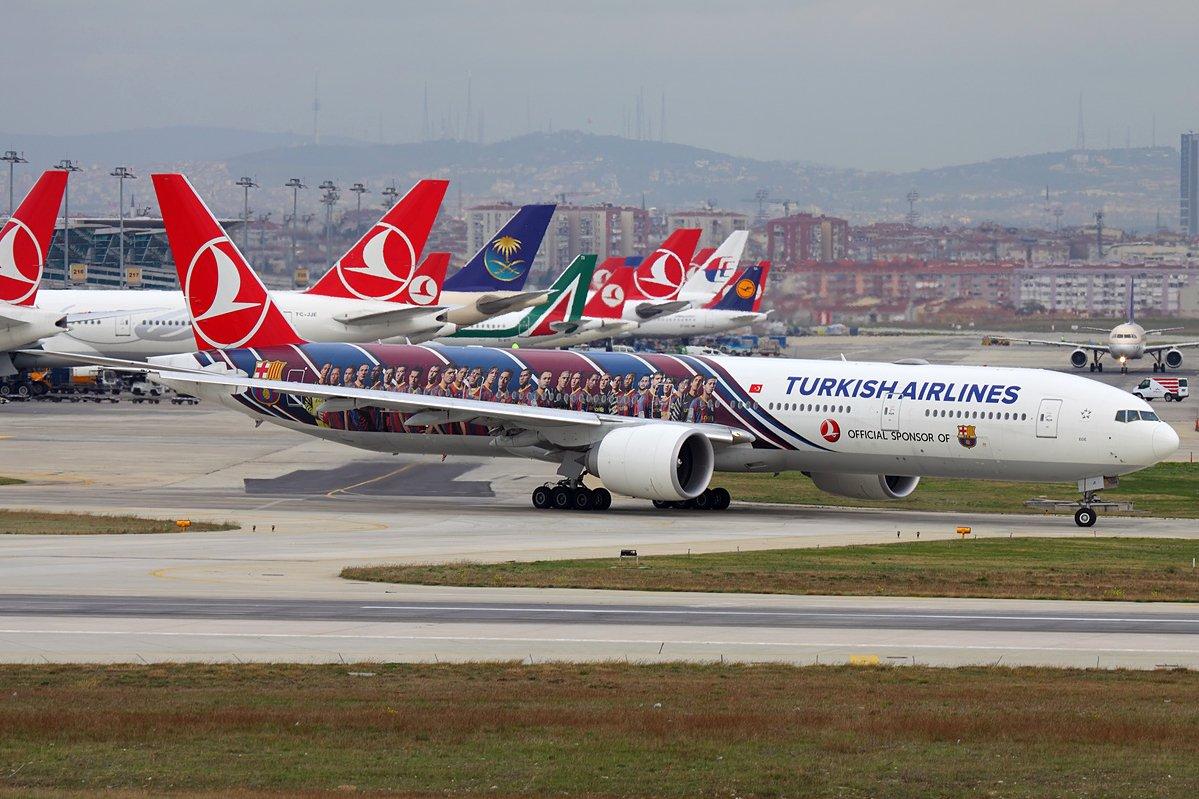 Самолеты Turkish Airlines