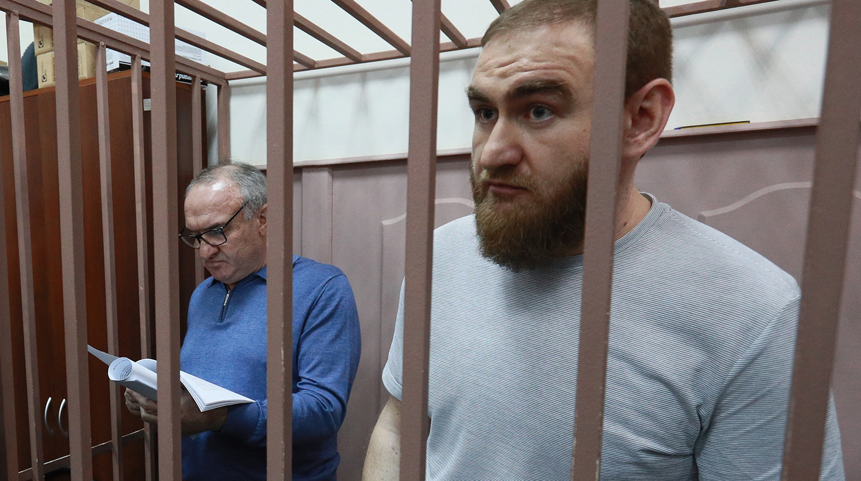 Рауф Арашуков и его отец
