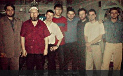 Представители организации русских мусульман. Второй слева Абу Талиб Степченко