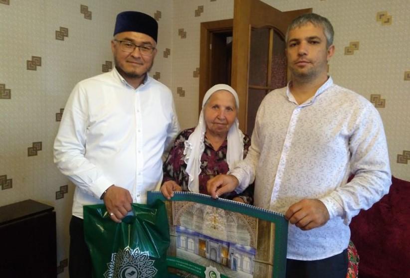 Зам. муфтия Закир Шарыпов и советник муфтия Юсуф Алисултанов
