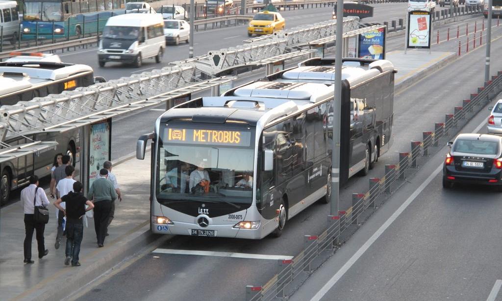 Дорога в Стамбуле