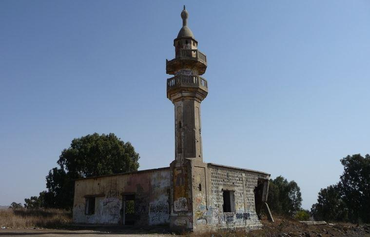 Полуразрушенная мечеть символизирует подвиг черкесов