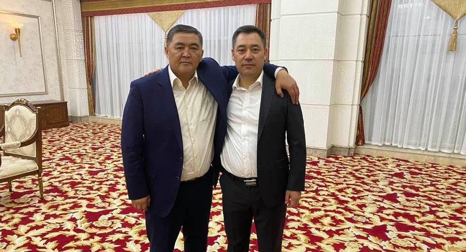 Камчыбек Ташиев и Садыр Жапаров