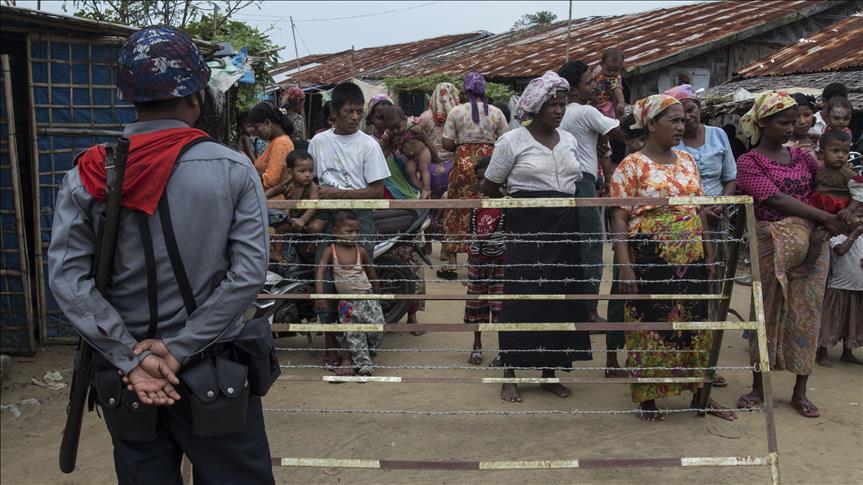 Лагерь рохинья в Мьянме