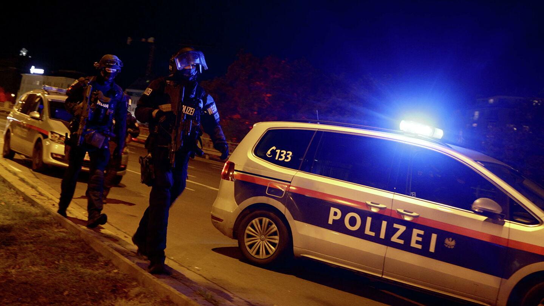 Полицейские в Вене
