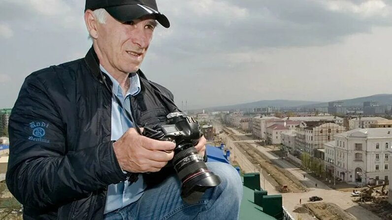Фотограф Саид-Хусейн Царнаев