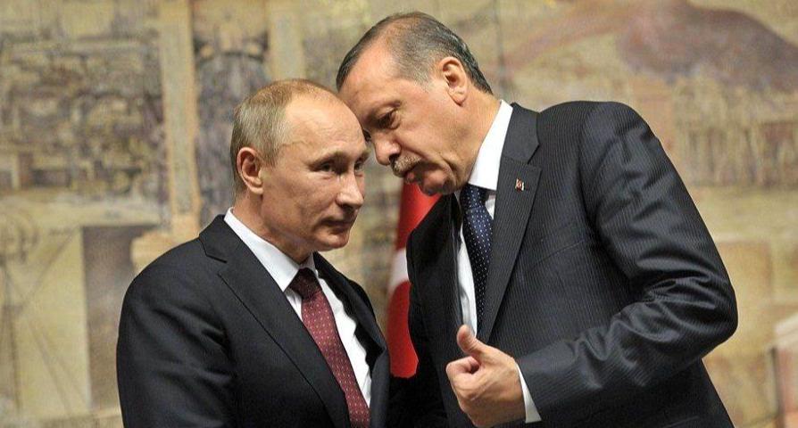 Лидеры России и Турции