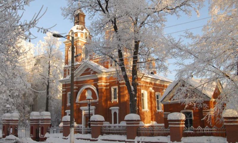 Здание дореволюционного Александровского костела