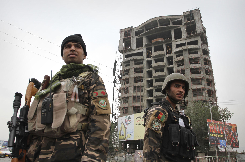 Афганские военные