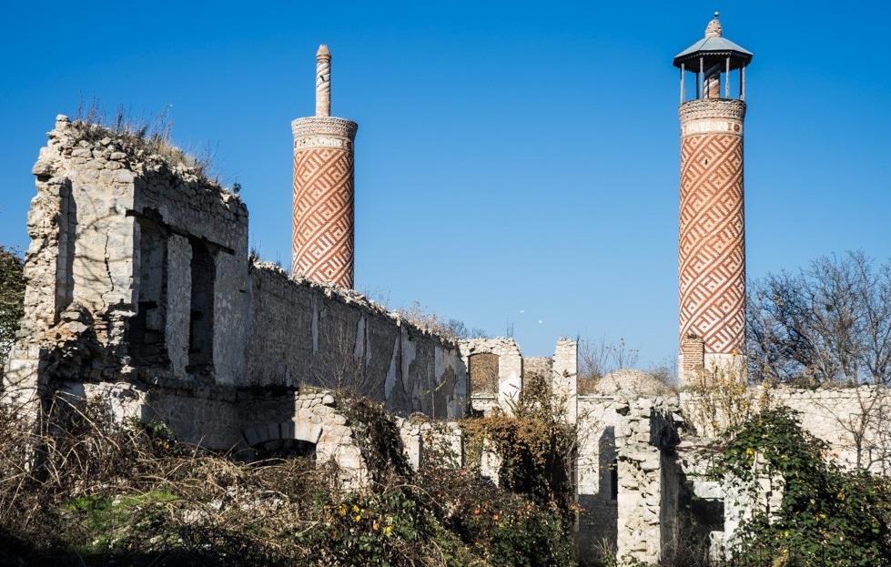 Развалины мечети