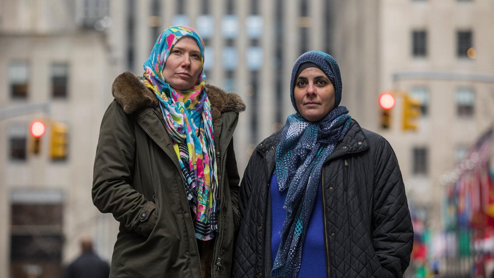 Истицы по делу о хиджабах