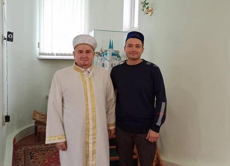 Дамир Юсупов с имамом Сызрани