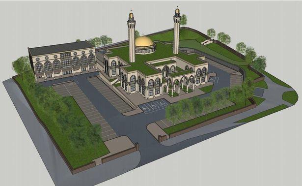 Проект будущей мечети