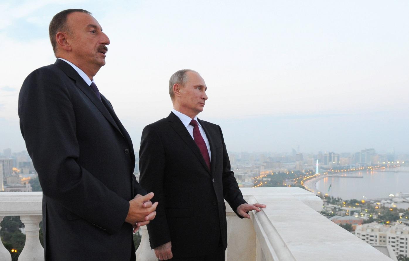 И.Алиев и В.Путин