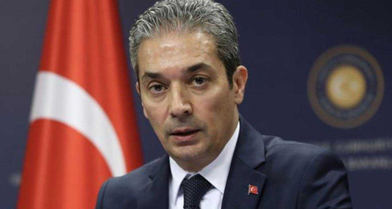 Пресс-секретарь МИД Турции Хами Аксой