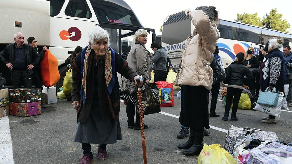 Беженцы возвращаются в Нагорный Карабах