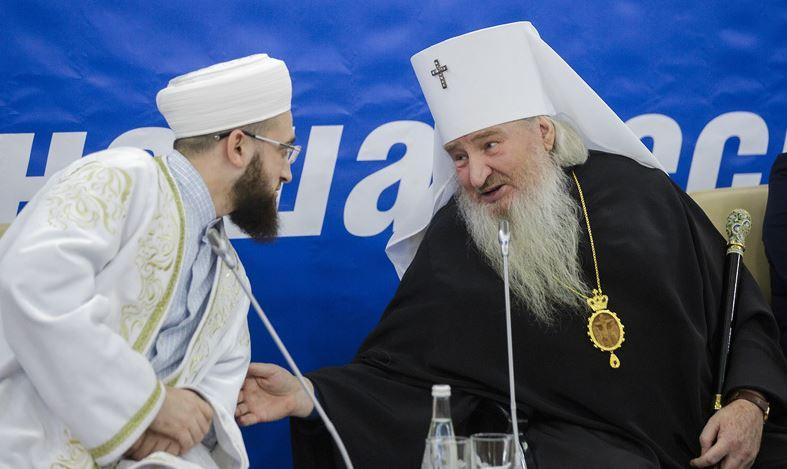Муфтий и митрополит Татарстана. Фото: «Бизнес-онлайн»