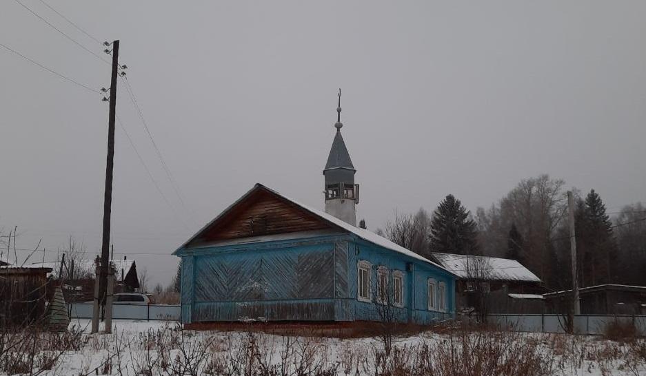 Сейчас мечеть выглядит так, но скоро старую крышу заменят куполом