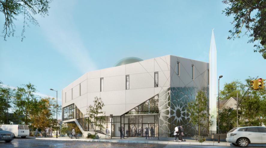 Визуализация будущей мечети