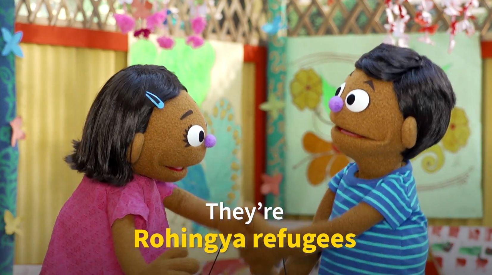 Скриншот из видео с новыми героями