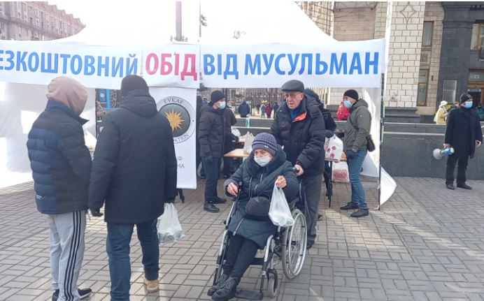 На майдане в Киеве