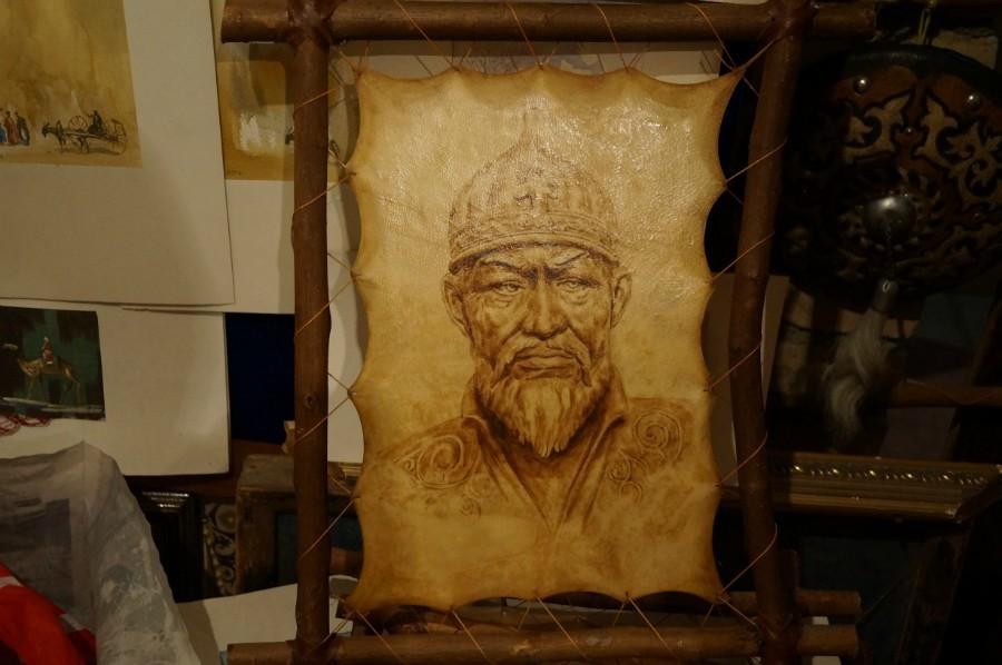 Восстановленный портрет Амира Тимура