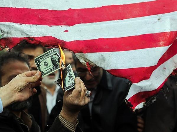 Антиамериканская демонстрация в Иране