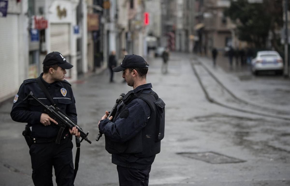 В Турции задержана группа иностранных террористов