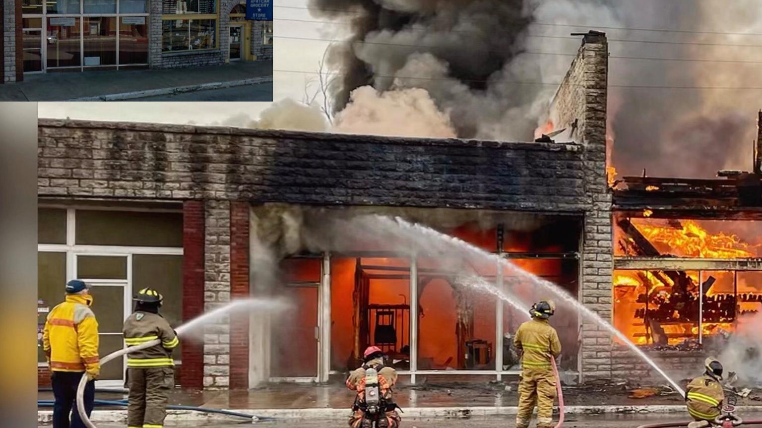 Пожар в Ноэле