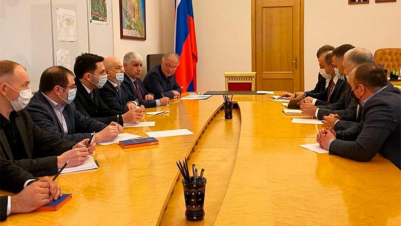 Встреча в правительстве Дагестана