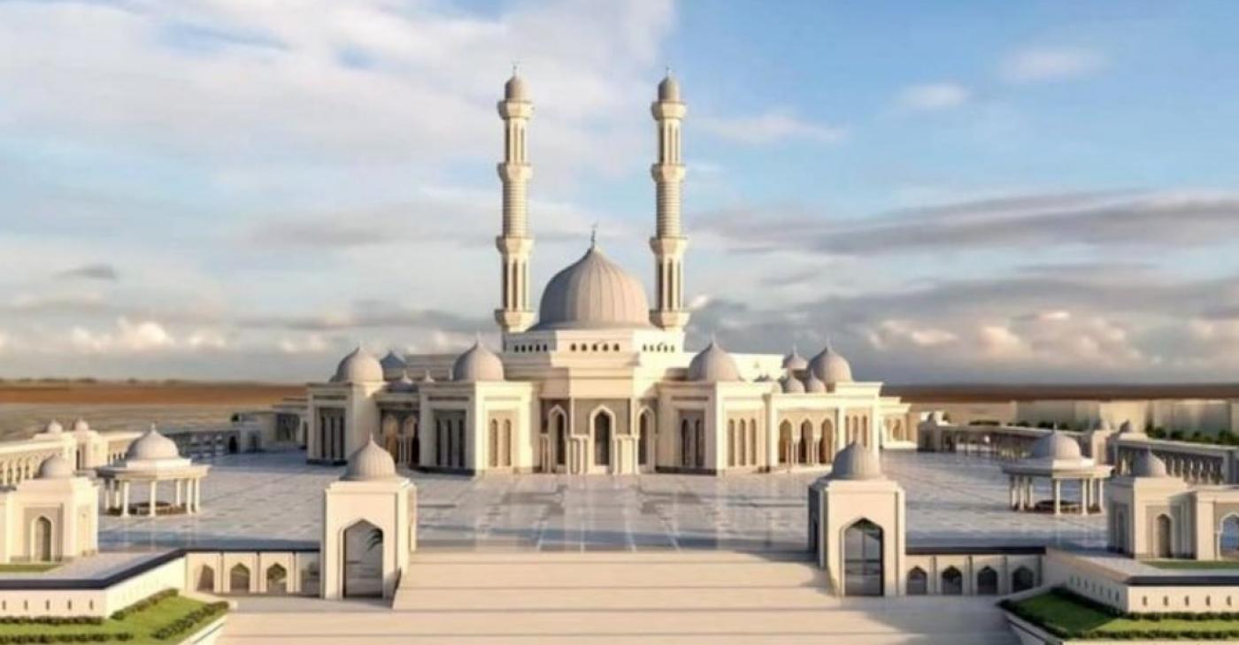 Визуализация проекта мечети