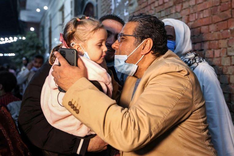 Махмуд Хусейн встретился с семьей