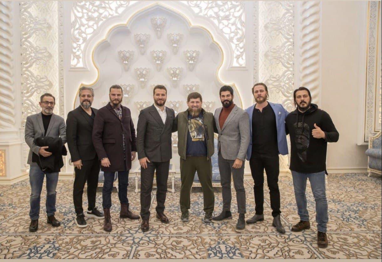 Р.Кадыров, съемочная группа и актерский состав сериала