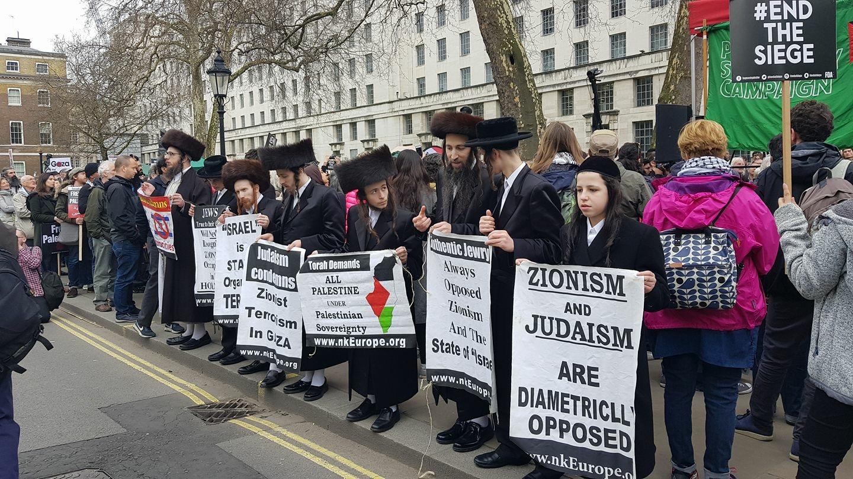 Ортодоксальные иудеи выступают с осуждением сионизма