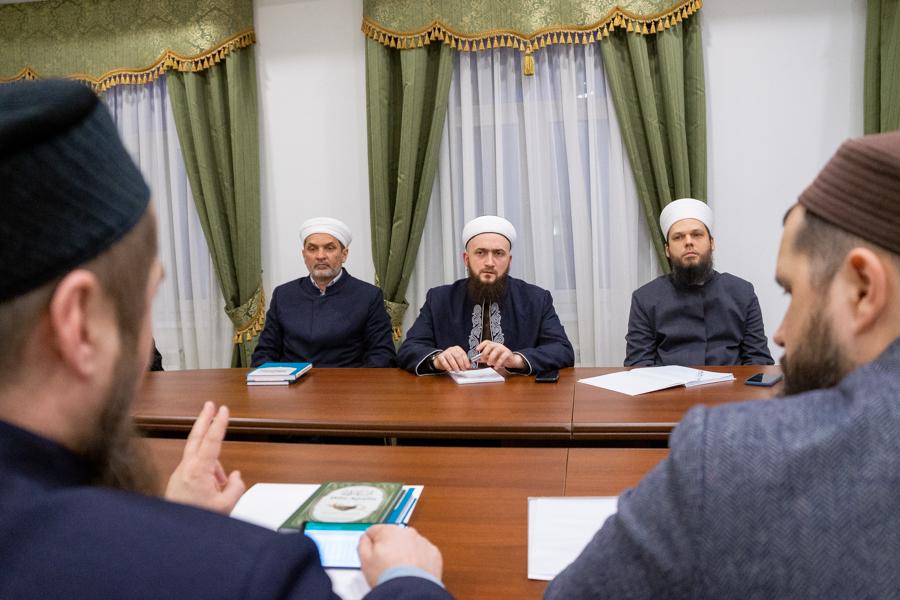 Заседание Совета улемов Татарстана