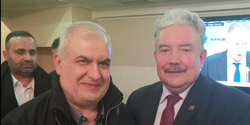 Сергей Бабурин и Мухаммад Раад
