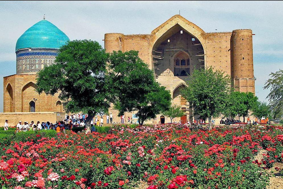 Город Туркестан в Казахстане